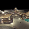 "<div><b>Lagoi Bay Mall</b> - Perspective, Bintan Island</div><div style=""font-weight: normal;"">2-floor reinforced concrete building</div>"